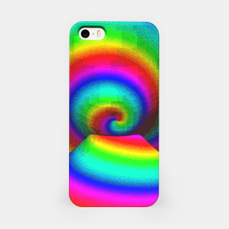 Thumbnail image of rainbow pixels iPhone Case, Live Heroes