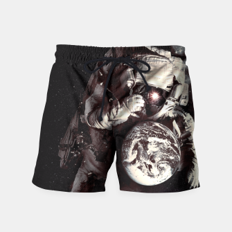 Thumbnail image of It's a Small World After All Swim Shorts, Live Heroes