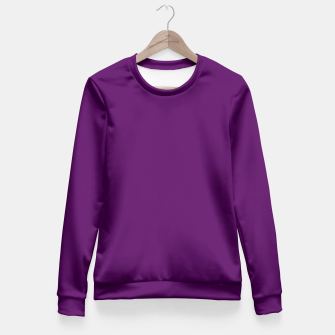 Thumbnail image of Purple Passion Fitted Waist Sweater, Live Heroes