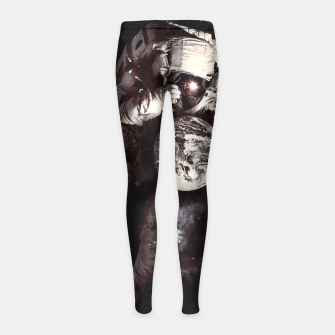 Thumbnail image of It's a Small World After All Girl's Leggings, Live Heroes