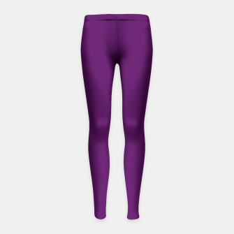 Thumbnail image of Purple Passion Girl's Leggings, Live Heroes