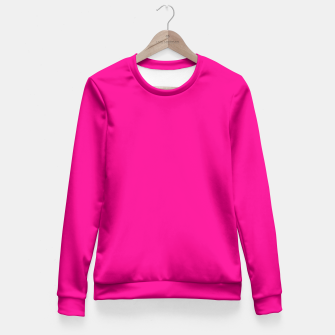 Thumbnail image of Hot Pink Happiness Fitted Waist Sweater, Live Heroes