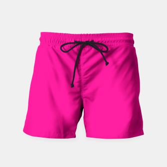 Thumbnail image of Hot Pink Happiness Swim Shorts, Live Heroes
