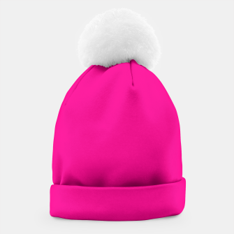 Thumbnail image of Hot Pink Happiness Beanie, Live Heroes