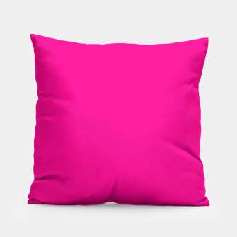 Thumbnail image of Hot Pink Happiness Pillow, Live Heroes