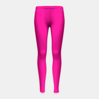 Thumbnail image of Hot Pink Happiness Girl's Leggings, Live Heroes