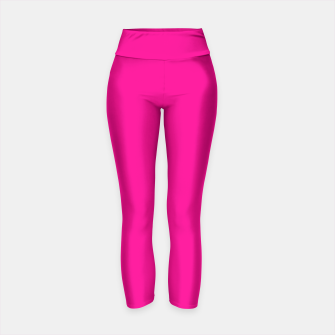 Thumbnail image of Hot Pink Happiness Yoga Pants, Live Heroes