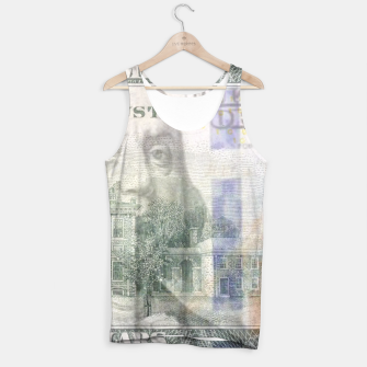 Thumbnail image of Dollars Tank Top, Live Heroes