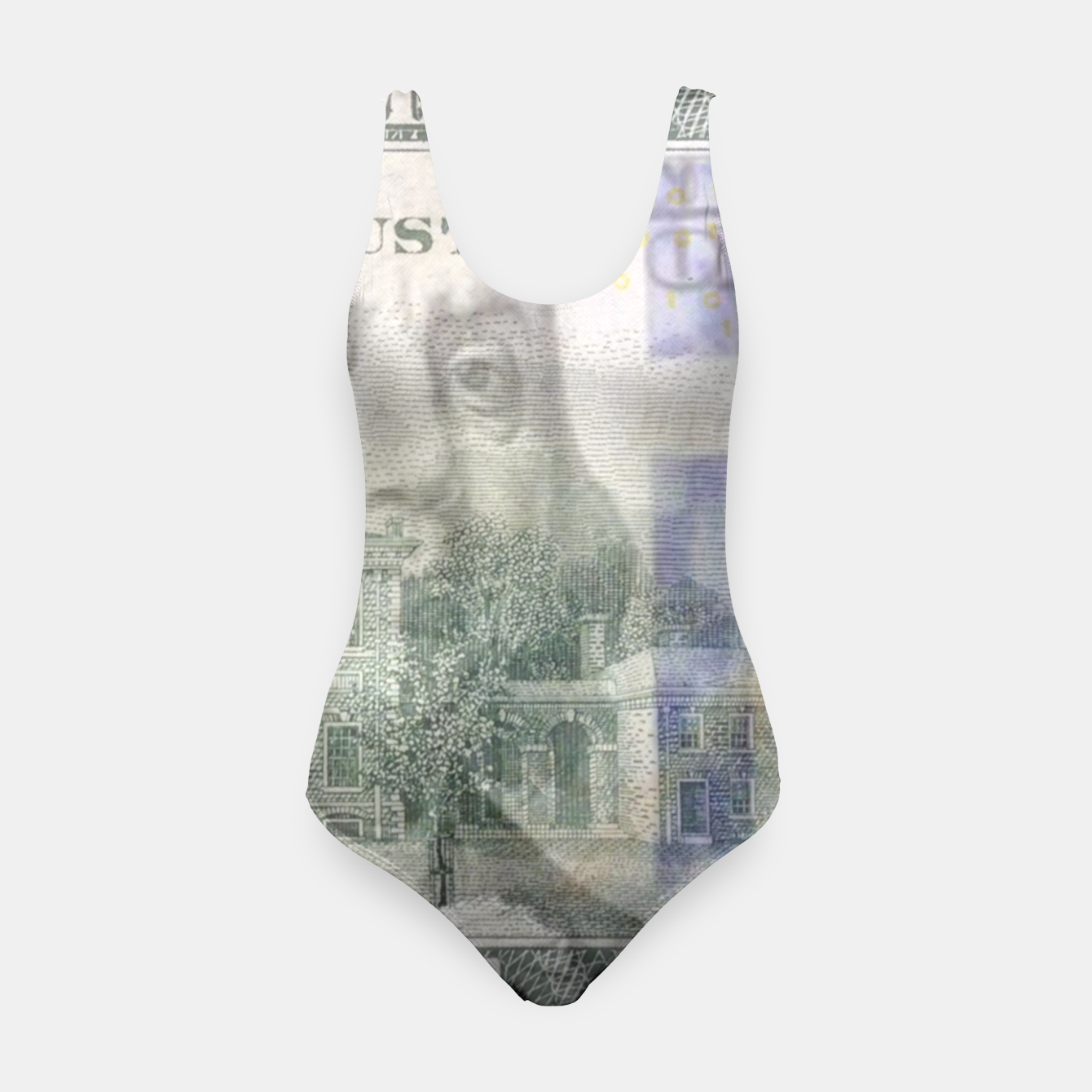 Image of Money swimsuit - Live Heroes