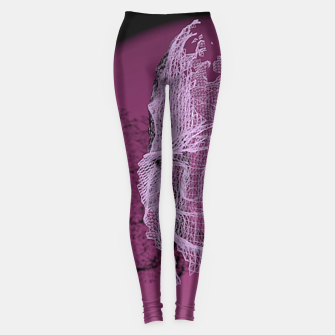 Thumbnail image of art wire Leggings, Live Heroes