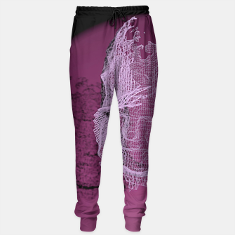 Thumbnail image of art wire Sweatpants, Live Heroes