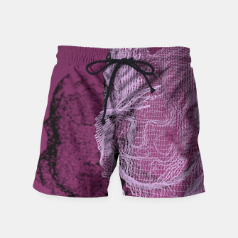 Thumbnail image of art wire Swim Shorts, Live Heroes