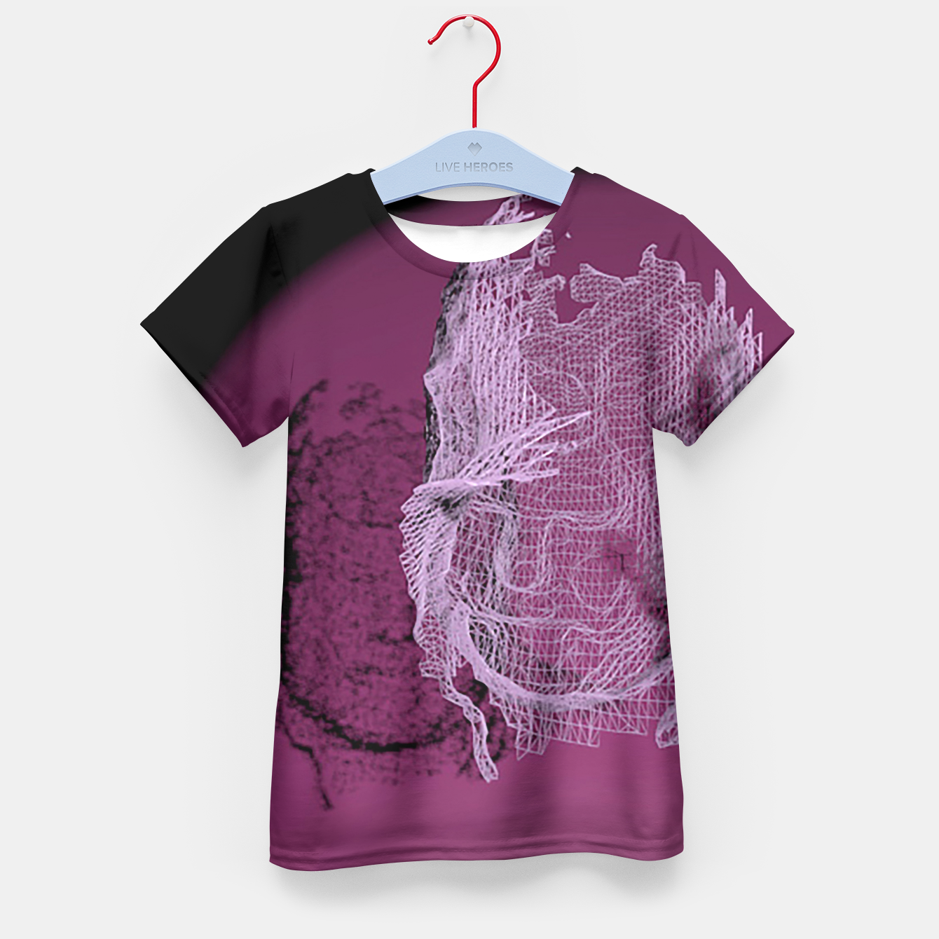 Image of art wire Kid's T-shirt - Live Heroes