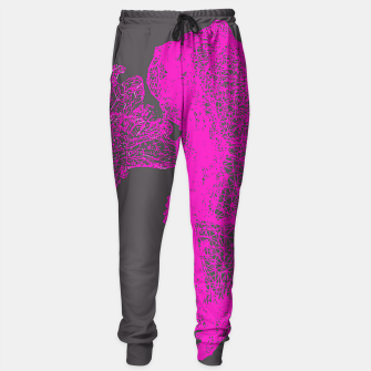 Thumbnail image of pink skull Sweatpants, Live Heroes