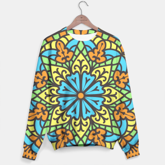 Miniatur Ethnic Oriental Ornament  Sweater, Live Heroes