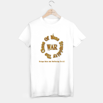 Thumbnail image of WAR - The Chaos Of Mans Stupidity T-shirt regular, Live Heroes