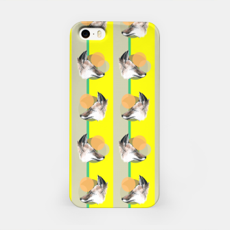 Thumbnail image of Fox does Eighties  iPhone Case, Live Heroes