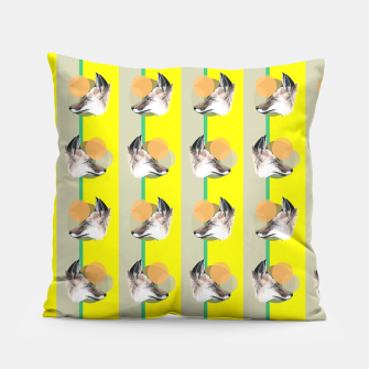 Thumbnail image of Fox does Eighties  Pillow, Live Heroes