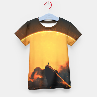 Thumbnail image of Easy Changes Kid's T-shirt, Live Heroes