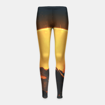 Thumbnail image of Easy Changes Girl's Leggings, Live Heroes