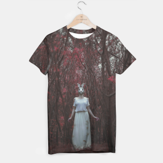 The silence of the woods T-shirt thumbnail image