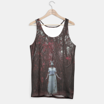 The silence of the woods Tank Top thumbnail image