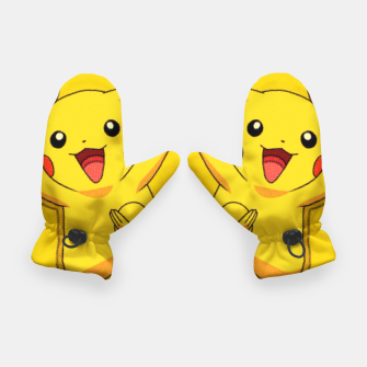Thumbnail image of Comic Pikachu Guantes, Live Heroes