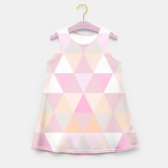 Thumbnail image of CANDY TRIANGLES BY MONIKA STRIGEL GIRLS DRESS, Live Heroes