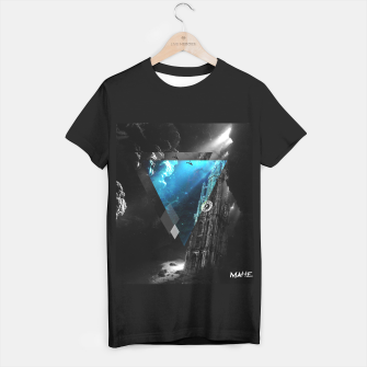Thumbnail image of KATHEDRAAL - polyscape ((T-shirt)), Live Heroes