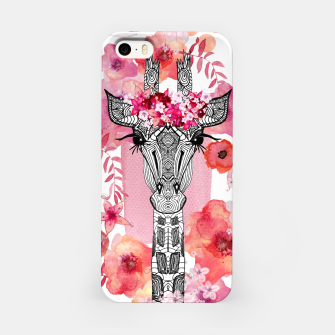 Thumbnail image of FLOWER GIRAFFE PINK by Monika Strigel , Live Heroes