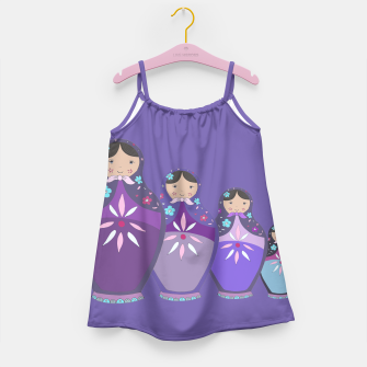 Thumbnail image of RUSSIAN DOLLS by Monika Strigel Girls Dress, Live Heroes