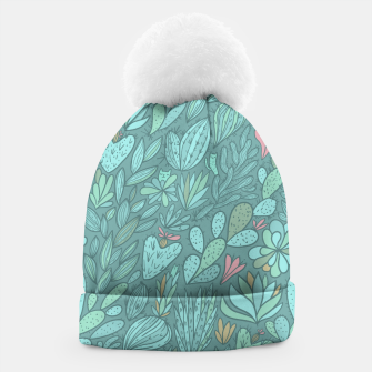 Miniaturka Cactus & Succulents pattern Beanie, Live Heroes