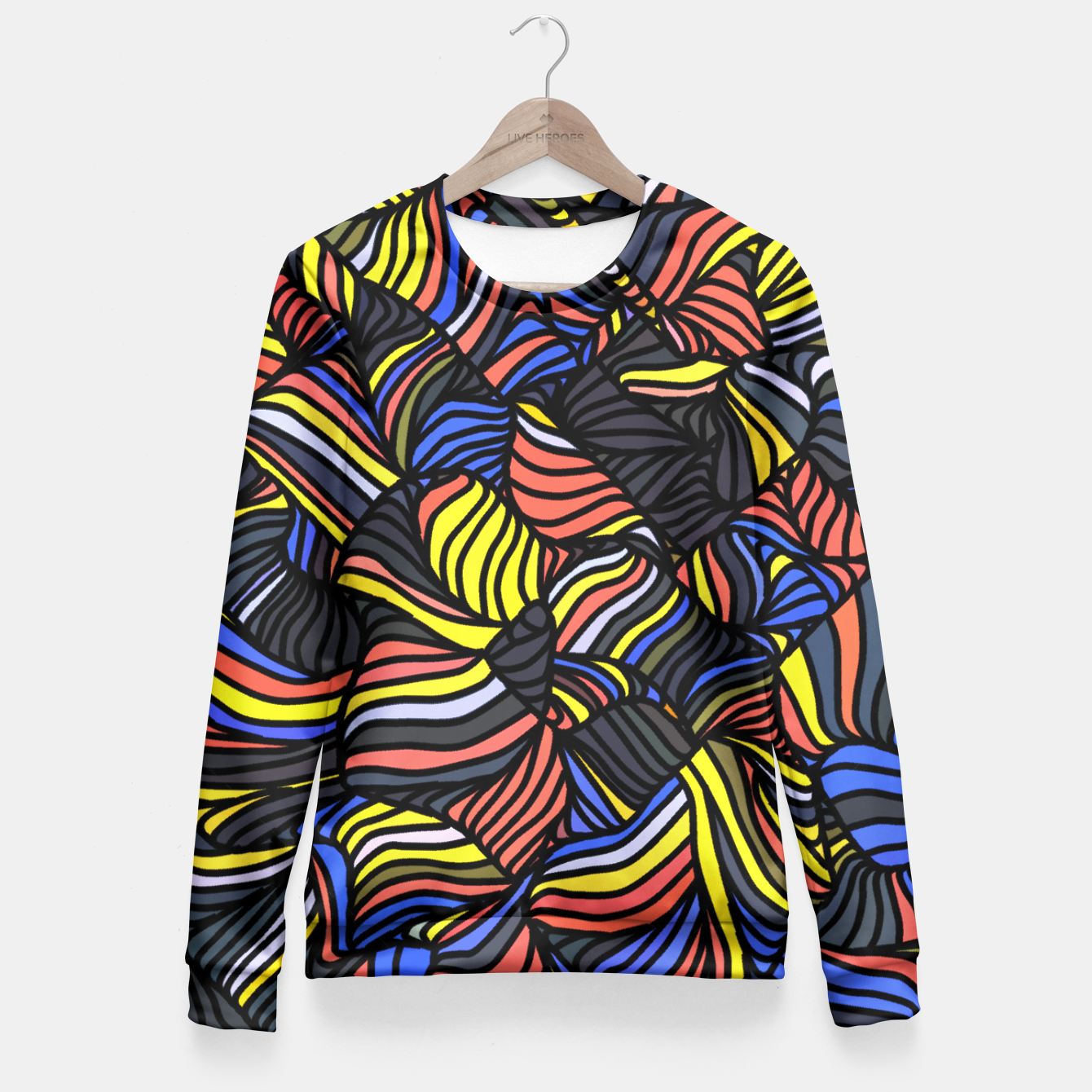 Image of m3n2 Fitted Waist Sweater - Live Heroes
