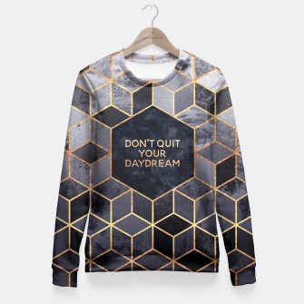 Miniature de image de Don't Quit Your Daydream Fitted Waist Sweater, Live Heroes