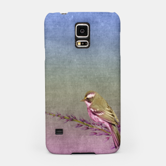 Thumbnail image of rustic bird and flower, Live Heroes