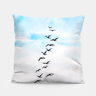 Thumbnail image of Birds Pillow, Live Heroes