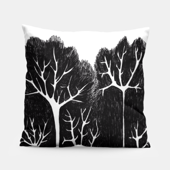 Thumbnail image of Trees Pillow, Live Heroes
