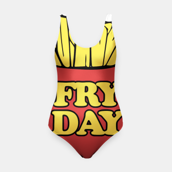 Thumbnail image of FRY day friday humor Swimsuit, Live Heroes