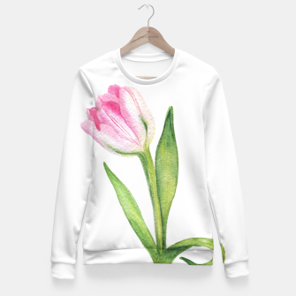 Thumbnail image of Tulip Fitted Waist Sweater, Live Heroes