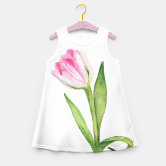 Thumbnail image of Tulip Girl's Summer Dress, Live Heroes