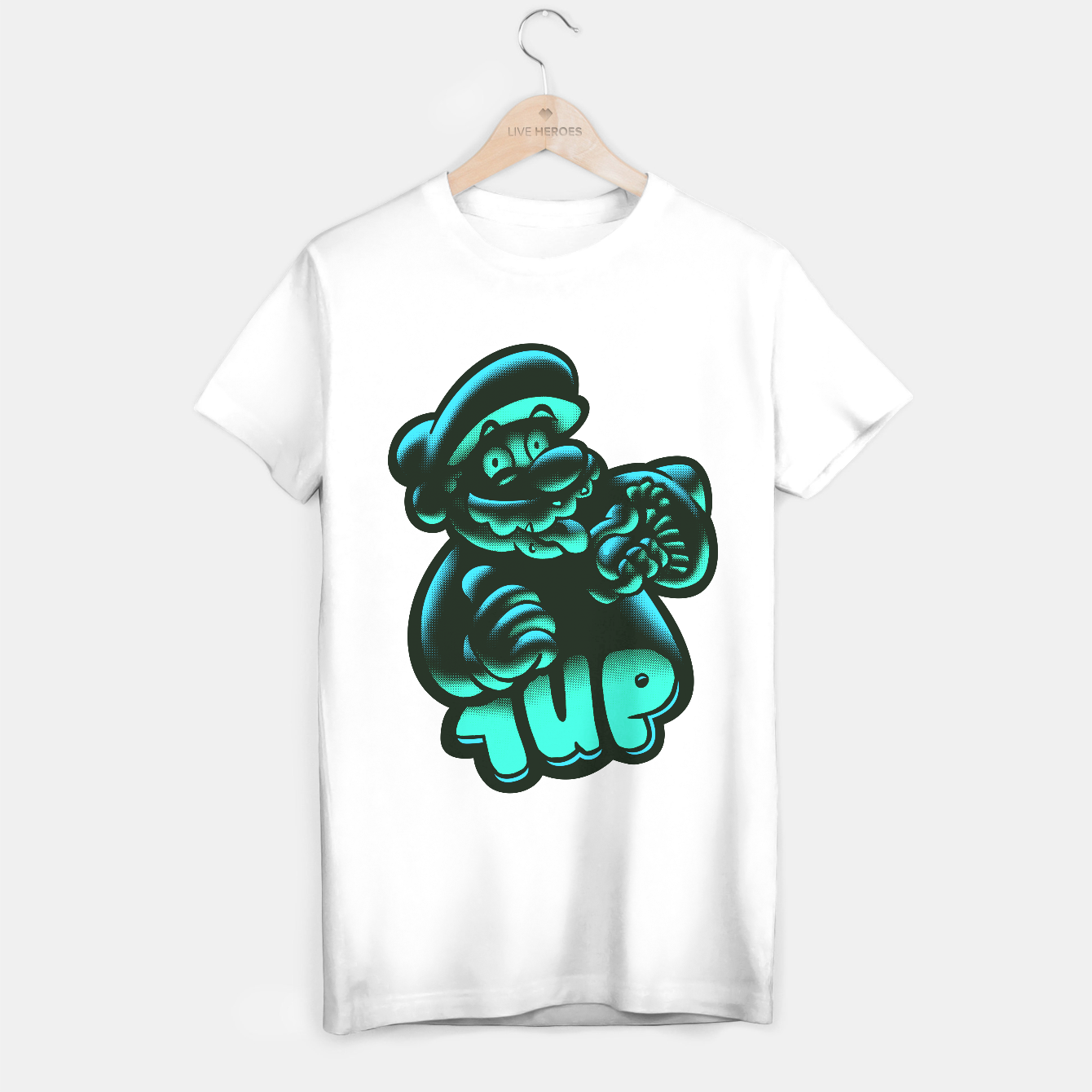 Image of 1UP T-shirt regular - Live Heroes