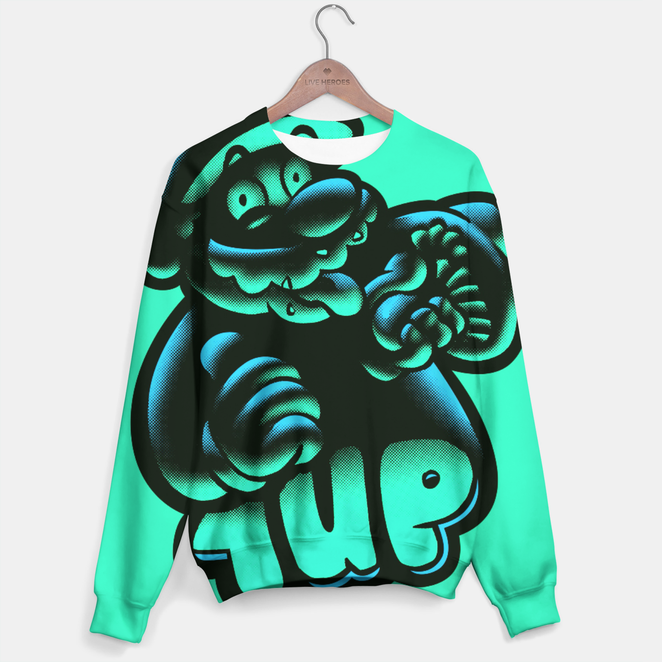 Image of 1UP BG Sweater - Live Heroes