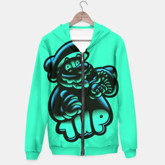 Thumbnail image of 1UP BG Hoodie, Live Heroes