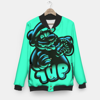 Thumbnail image of 1UP BG Baseball Jacket, Live Heroes