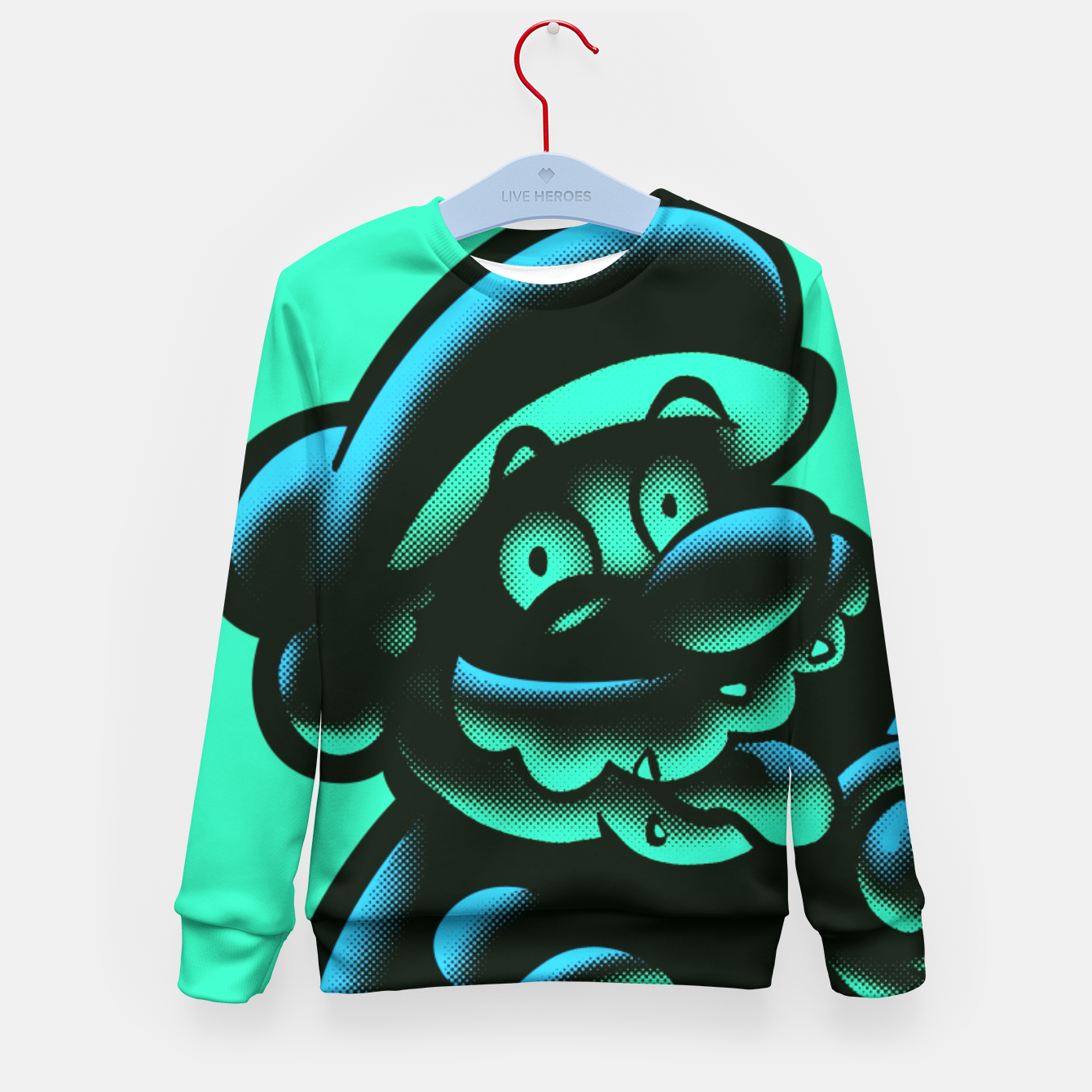 Image of 1UP Kid's Sweater - Live Heroes
