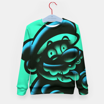 Thumbnail image of 1UP Kid's Sweater, Live Heroes