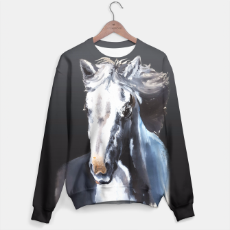 Thumbnail image of Horse Ghost Sweater, Live Heroes