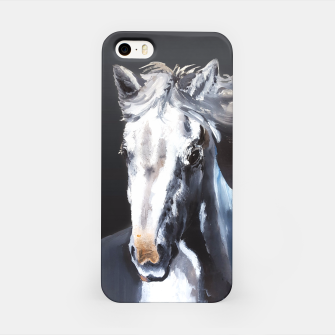 Horse Ghost iPhone Case thumbnail image