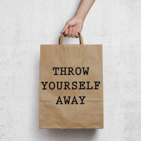 Throw yourself away logo