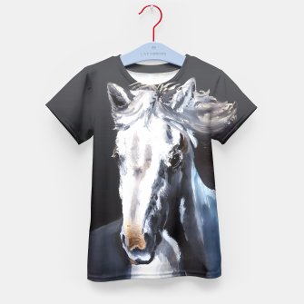 Horse Ghost Kid's T-shirt thumbnail image